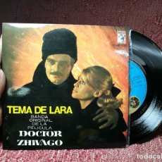 Discos de vinilo: MAURICE JARRE - BANDA ORIGINAL DE LA PELICULA DOCTOR ZHIVAGO - TEMA DE LARA MGM 1966. Lote 136813606