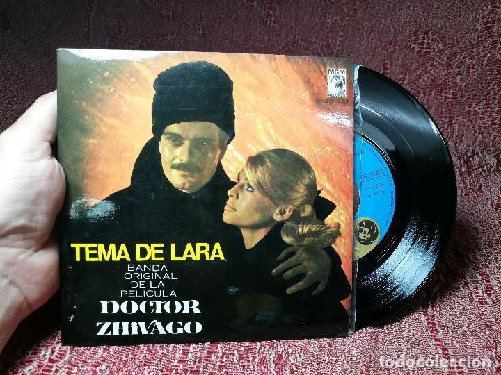 Discos de vinilo: MAURICE JARRE - BANDA ORIGINAL DE LA PELICULA DOCTOR ZHIVAGO - TEMA DE LARA MGM 1966 - Foto 2 - 136813606