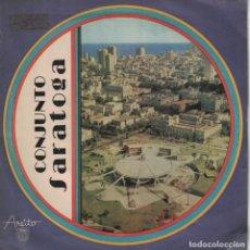 Discos de vinilo: CONJUNTO SARATOGA - QUE SABROSIAO/DECIDETE ESTA NOCHE/DULCE SOFIA/CON LA PALABRA AMOR. Lote 136814570