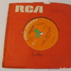 Discos de vinilo: LOTE SINGLE ROBESPIERRE TE AMO...PERO NO TANTO SELLO DISCJOCKEY ED ARGENTINA. Lote 136816686