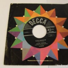 Discos de vinilo: LOTE SINGLE LOUIS JORDAN PINETOP'S BOOGIE WOOGIE SELLO DECCA 1950. Lote 136817038