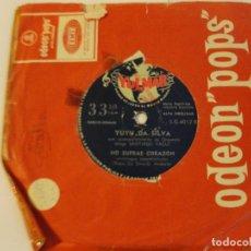 Discos de vinilo: LOTE SINGLE YUYU DA SILVA NO SUFRAS CORAZON SELLO YULMAR ED ARGENTINA. Lote 136817270