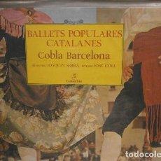 Discos de vinilo: COBLA BARCELONA DIRECTOR JOAQUIN SERRA – BALLETS POPULARES CATALANES - LP COLUMBIA 1969 . Lote 136819466