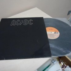 Discos de vinilo: AC .DC BACK IN BLACK--ATLANTIC-AÑO 1980-HISPAVOX MADRID. Lote 136823674