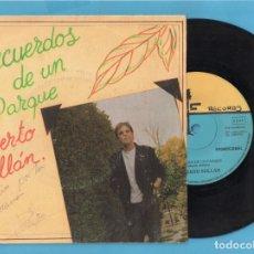 Discos de vinilo: DISCO VINILO DE PROMOCIONAL DE ROBERTO MILLÁN DE M C E FIRMADO . Lote 136836890