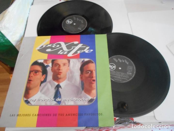 LOCO X LA TELE-LP DOBLE LAS MEJORES CANCIONES DE TUS ANUNCIOS FAVORITOS (Música - Discos - LP Vinilo - Bandas Sonoras y Música de Actores )