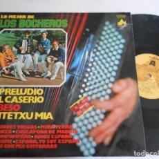 Discos de vinilo: LOS BOCHEROS-LP LO MEJOR. Lote 136845786