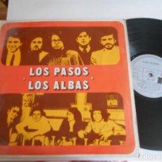 Discos de vinilo: LOS PASOS-LOS ALBAS-LP ESPAÑOL 1972.. Lote 136846134