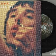 Dischi in vinile: IAN BROWN SINGLE CAN'T SEE ME BACON & QUARMBY U.K. 1998 STONE ROSES CARPETA ABIERTA. Lote 136849006