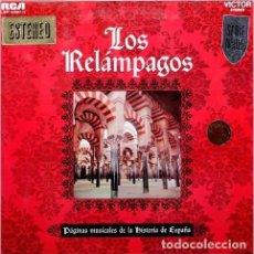 Discos de vinilo: LOS RELAMPAGOS - PAGINAS MUSICALES DE LA HISTORIA DE ESPAÑA . Lote 136867382