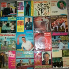 Discos de vinilo: DISCOS (MANOLO ESCOBAR) (LOTE DE 16 EP,S 4 CANCIONES CADA UNO). Lote 136869758