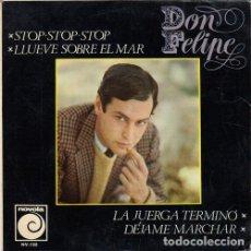 Discos de vinilo: DON FELIPE - STOP STOP STOP - EP MUY RARO DE VINILO #. Lote 183845323
