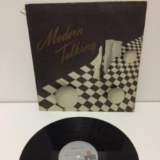Discos de vinilo: MODERN TALKING - YOU CAN WIN IF YOU WANT / ONE IN A MILLION MAXISINGLE 45 RPM 1985. Lote 136891246
