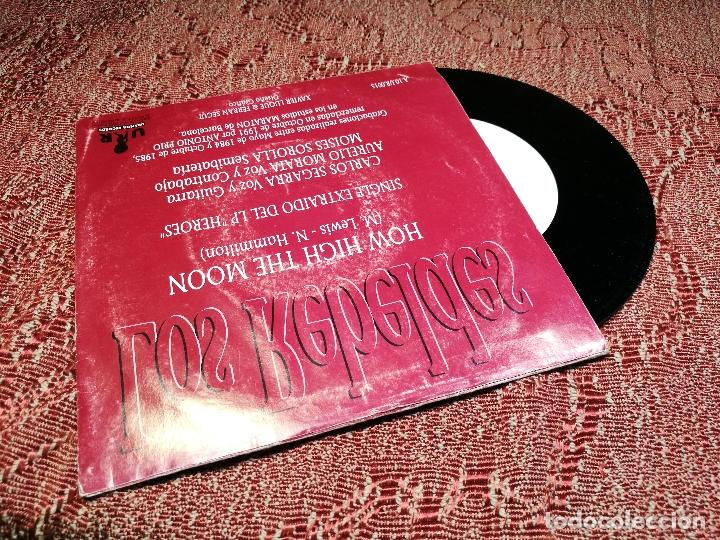 Discos de vinilo: Rebeldes. How High the Moon. Aurelio Moi Carlos 1984 Uranita Spain 1991 (single s/sided promocional) - Foto 3 - 136896266