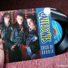 Discos de vinilo: CALLEJONES / CHICA DE BARRIO / CORRIENDO FUERA DE TIEMPO (SINGLE 1991). Lote 136904814