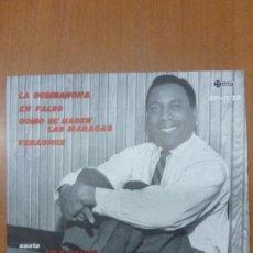 Discos de vinilo: JOAQUÍN CAMPANERA Y CONJUNTO, EP, LA CUMBANCHA / EN FALSO . SAEF SP-1033. 1960. BUEN ESTADO. Lote 136914982