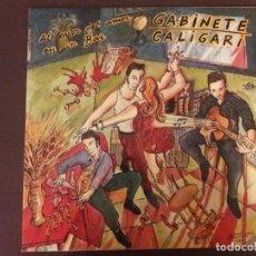 Discos de vinilo: VINILO. DISCO. GABINETE CALIGARI. AL CALOR DEL AMOR EN UN BAR. Lote 136928662
