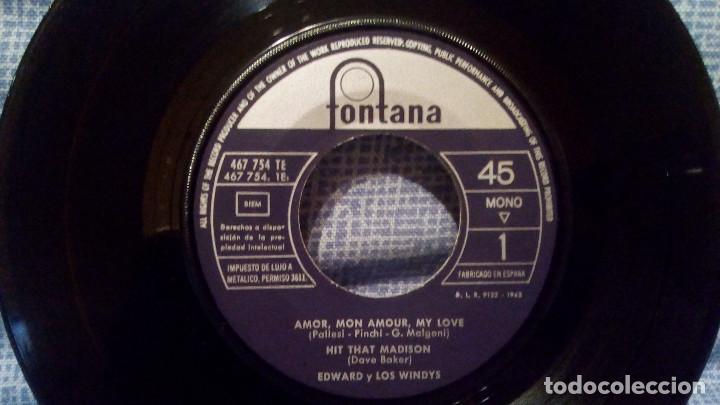Discos de vinilo: LOS WINDYS - EXTRAORDINARIO Y RARO EP EDICION ESPAÑOLA DEL SELLO FONTANA AÑO 1963 LENGÜETA Y FUNDA - Foto 5 - 136929894