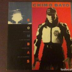 Discos de vinilo: VINILO. DISCO. CHIMO BAYO. BOMBAS. Lote 136935102