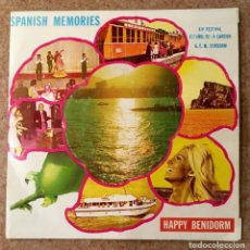 Discos de vinilo: SPANISH MEMORIES - 1972, RARÍSIMO SINGLE. Lote 136937306