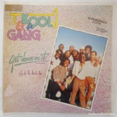Discos de vinilo: MAXI / KOOL & THE GANG – GET DOWN ON IT / RCA SPCO-50050 / 1983 / PROMO. Lote 137000218