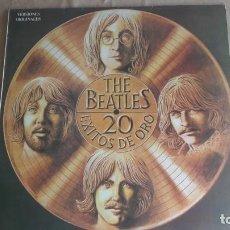 Discos de vinilo: THE BEATLES – 20 EXITOS DE ORO VINILO LP - ESPAÑA (ODEÓN, 1979). MUY BUEN ESTADO . Lote 137100818