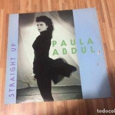 Discos de vinilo: PAULA ABDUL ?– STRAIGHT UP. Lote 137100918