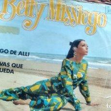 Discos de vinilo: SINGLE (VINILO) DE BETTY MISSIEGO AÑOS 70. Lote 137106170