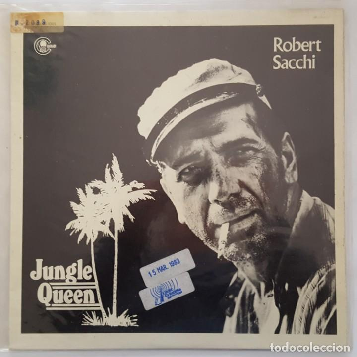 MAXI / ROBERT SACCHI / JUNGLE QUEEN / CARNABY MS-1001 / 1982 / PROMO (Música - Discos de Vinilo - Maxi Singles - Funk, Soul y Black Music)