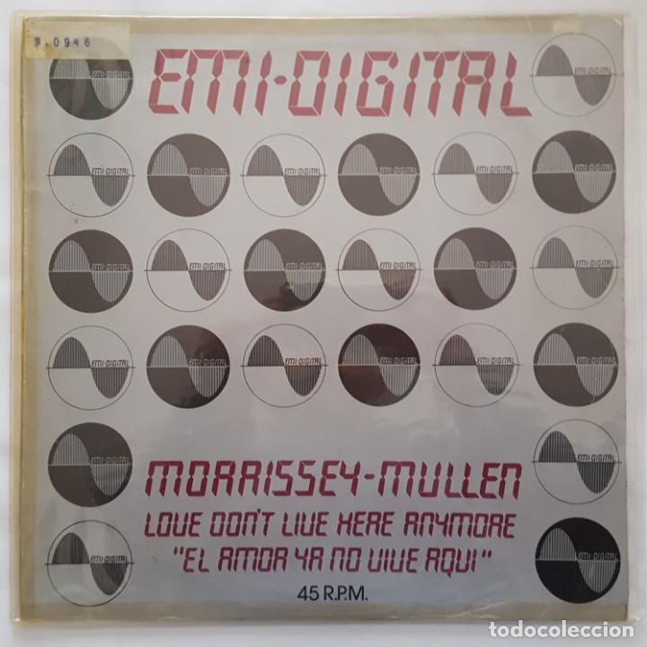MAXI / MORRISSEY-MULLEN ?– LOVE DON'T LIVE HERE ANYMORE / EMI DIGITAL ?– 10C 052-007055Z/1979/ PROMO (Música - Discos de Vinilo - Maxi Singles - Jazz, Jazz-Rock, Blues y R&B)