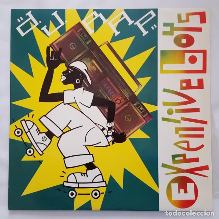 MAXI / EXPENSIVE BOYS / D.J. RAP / INDALO MUSIC INDX-113 / 1987 (Música - Discos de Vinilo - Maxi Singles - Rap / Hip Hop)