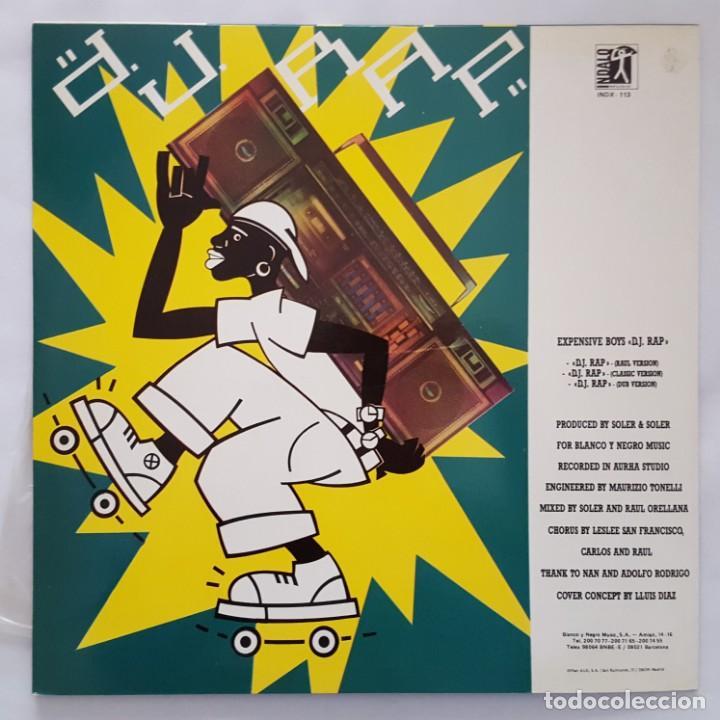 Discos de vinilo: MAXI / EXPENSIVE BOYS / D.J. RAP / INDALO MUSIC INDX-113 / 1987 - Foto 2 - 137119614