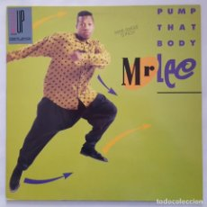 Discos de vinilo: MAXI / MR. LEE ?– PUMP THAT BODY / JIVE ?– ZT 43640 / 1990. Lote 137120810