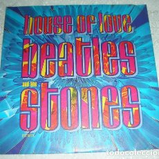 Discos de vinilo: THE HOUSE OF LOVE – BEATLES AND THE STONES (REMIX) - SINGLE1990. Lote 137124090