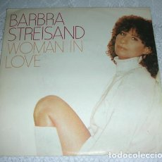 Discos de vinilo: BARBRA STREISAND – WOMAN IN LOVE - SINGLE 1980. Lote 137124450