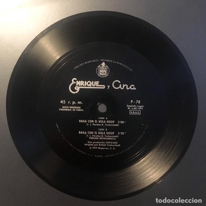 ENRIQUE Y ANA - BAILA CON EL HULA HOOP - DISCO FLEXIBLE (Música - Discos - Singles Vinilo - Música Infantil)