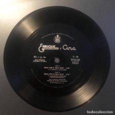 Discos de vinilo: ENRIQUE Y ANA - BAILA CON EL HULA HOOP - DISCO FLEXIBLE. Lote 137127478
