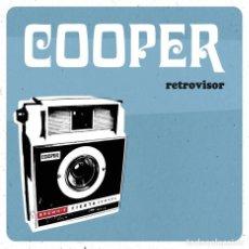 Discos de vinilo: LP COOPER RETROVISOR VINILO INDIE POP MOD LEON FLECHAZOS. Lote 170736235