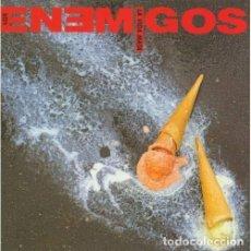 Discos de vinilo: LP+CD LOS ENEMIGOS LA VIDA ME MATA VINILO ROCK MOVIDA MADRILEÑA JOSELE SANTIAGO. Lote 183997212