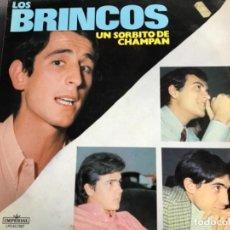 Discos de vinilo: ANTIGUO LP LOS BRINCOS UN SORBITO DE CHAMPAN . Lote 137133538
