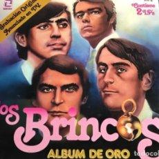 Discos de vinilo: ANTIGUO DOBLE LO LOS BRINCOS ALBUM DE ORO . Lote 137133726