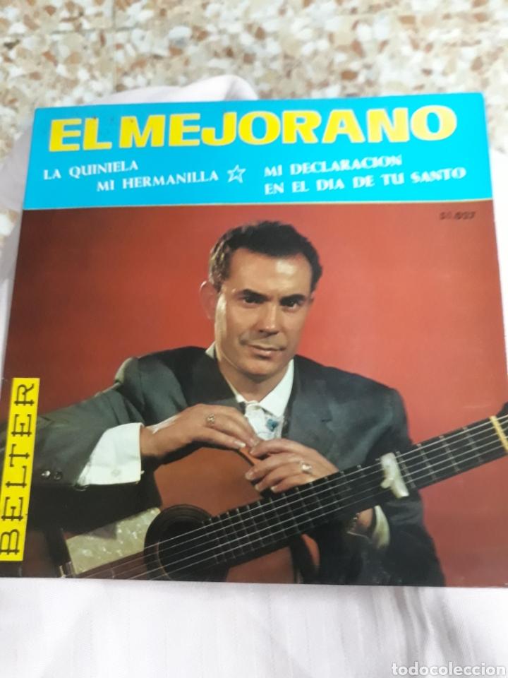 DISCO DE VINILO: EL MEJORANO : MI HERMANILLA/ Y 3 CANCIONES MÀS (Música - Discos - Singles Vinilo - Flamenco, Canción española y Cuplé)