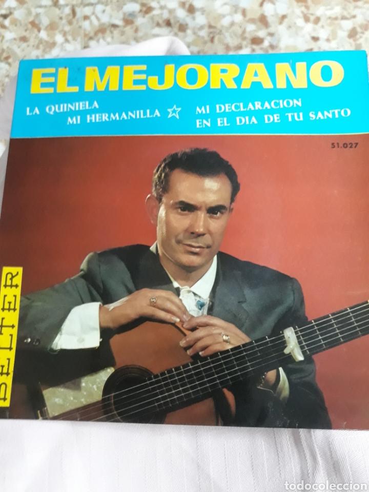 Discos de vinilo: DISCO DE VINILO: EL MEJORANO : MI HERMANILLA/ Y 3 CANCIONES MÀS - Foto 2 - 137135641