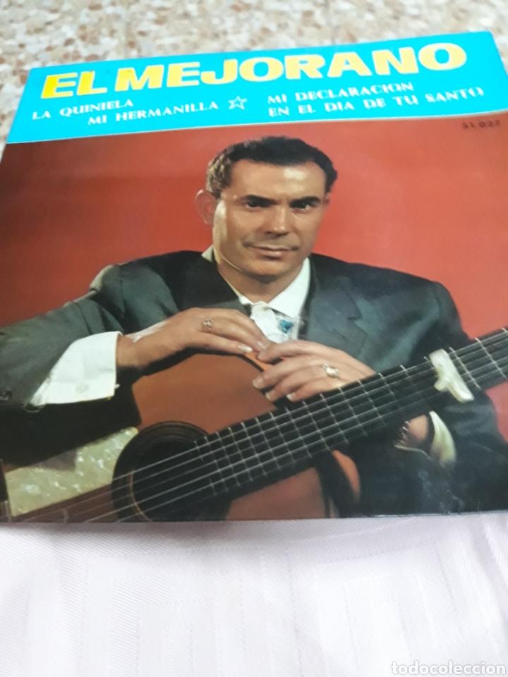 Discos de vinilo: DISCO DE VINILO: EL MEJORANO : MI HERMANILLA/ Y 3 CANCIONES MÀS - Foto 3 - 137135641