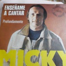 Discos de vinilo: DISCO DE VINILO: ENSEÑAME A CANTAR/PROFUNDAMENTE. Lote 137136036