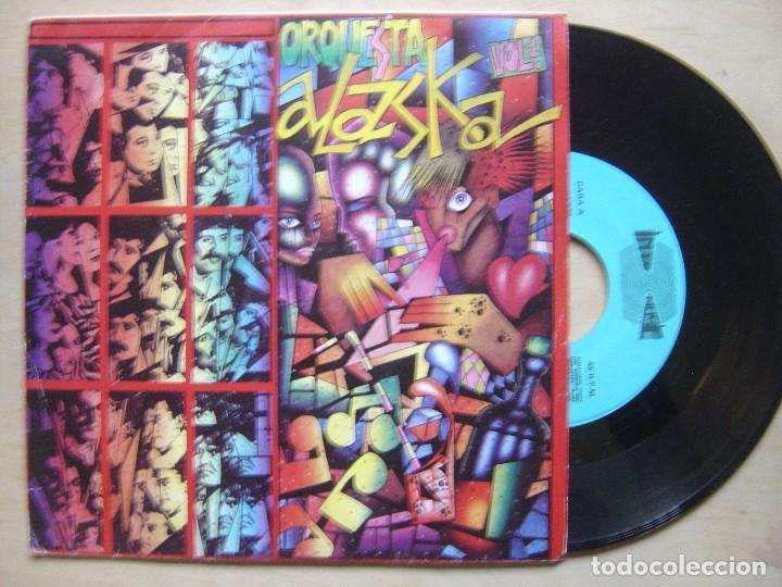 ORQUESTA ALASKA VOL1 - REINA DE LA NOCHE + ANTO ALLA IMAGINAZIONE - SINGLE INTEMUSIC - JUAN MURO (Música - Discos - Singles Vinilo - Grupos Españoles de los 70 y 80)
