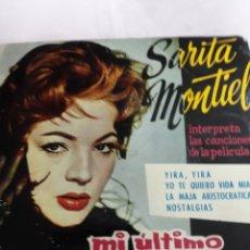 Discos de vinilo: DISCO VINLO: SARITA MONTIEL.-YO TE QUIERO VIDA MÍA Y 3 CANCIONES MÁS.- AÑO 1960. Lote 137137148