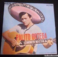 Discos de vinilo: PALITO ORTEGA– LA CHEVECHA / SOY AMIGO DE LAS FLORES - SINGLE 1969 . Lote 137138290