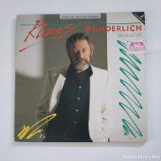 Discos de vinilo: KLAUS WUNDERLICH.- THE COLLECTION. THE COLLECTOR SERIES. DOBLE LP. TDKDA50. Lote 137152958