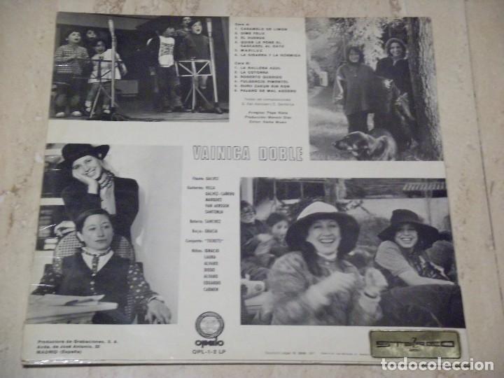 Discos de vinilo: VAINICA DOBLE-!!ORIGINAL!! SAME LP 1ST SPAIN PRESS OPALO- OPL-1/LP 1971 MEGA MONSTER - Foto 3 - 137153318